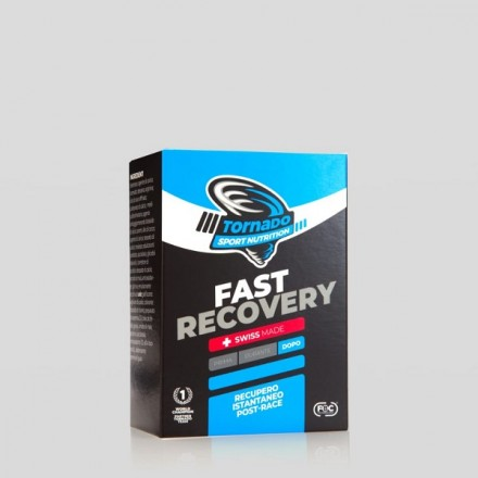 TORNADO SPORT NUTRITION FAST RECOVERY SCATOLE 20 STICK PACK OROSOLUBILI