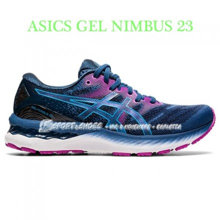 ASICS GEL NIMBUS 23 DONNAGRAND SHARK/DIGITAL AQUA