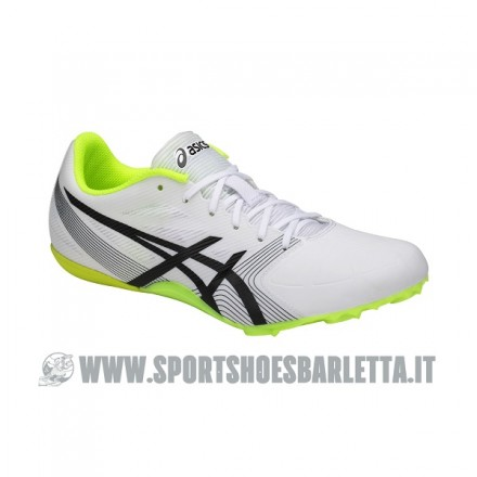 ASICS HYPERSPRINT 6 WHITE/BLACK/YELLOW