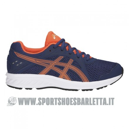 ASICS JOLT 2 GS BLUE/ORANGE