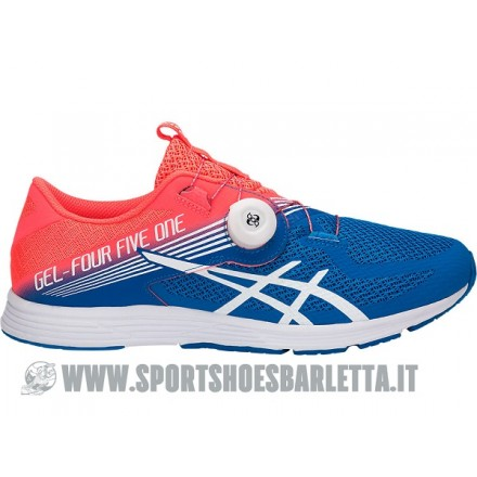 ASICS GEL 451 Flash Coral/White/Directoire Blue