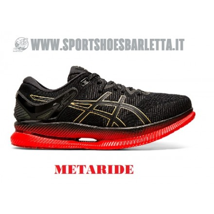 ASICS META RIDE donna BLACK/RED