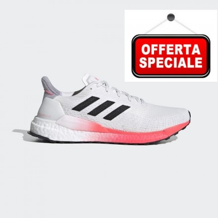 ADIDAS SOLARBOOST 19CRYSTAL WHITE / CORE BLACK / COPPER METALLIC
