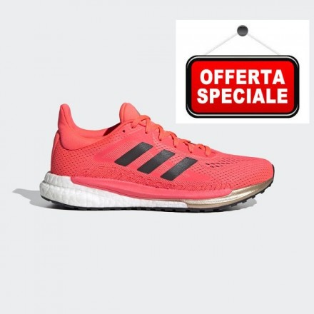 ADIDAS SOLARGLIDE 3SIGNAL PINK / CORE BLACK / COPPER METALLIC