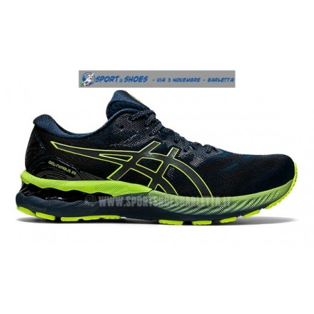 MIZUNO WAVE RIDER 21 OSAKA BLACK/SAFETY YELLOW/WHITE