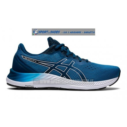 ASICS GEL EXCITE 8 UOMOBLUE/WHITE