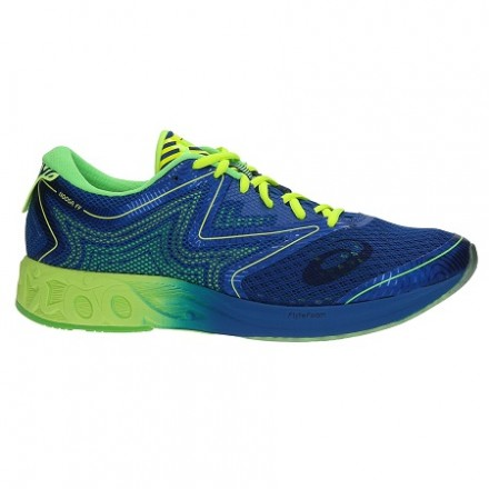 ASICS NOOSA FF IMPERIAL/SAFETY YELLOW/GREEN T722N 4507