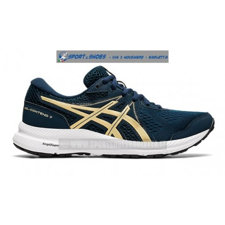 ASICS GEL CONTEND 7 donna BLUE/CHAMPAGNE