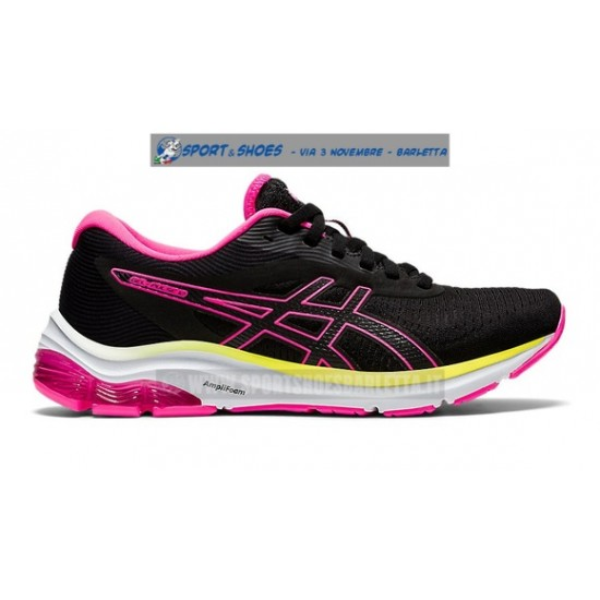 ASICS GEL PULSE 12 donna BLACK/PINK