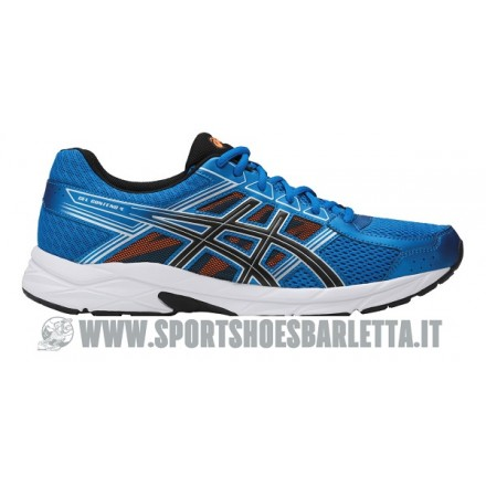 ASICS GEL CONTEND 4 BLUE/BLACK/ORANGE