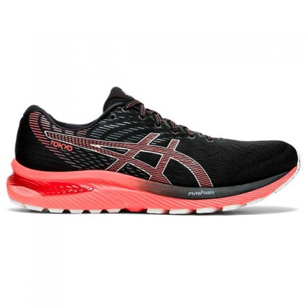 ASICS GEL-CUMULUS 22 TOKYOBLACK/SUNRISE RED
