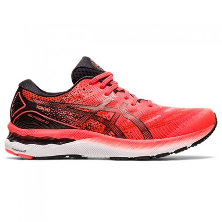 ASICS GEL-NIMBUS 23 TOKYOSUNRISE RED/BLACK