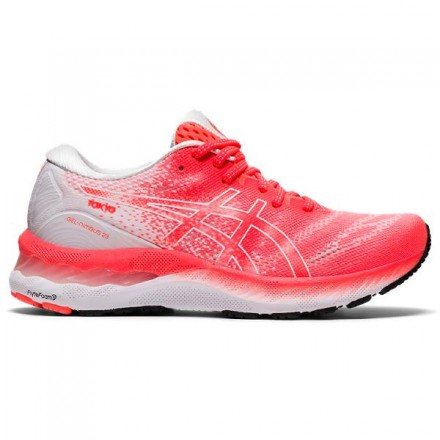 ASICS GEL-NIMBUS 23 TOKYOSUNRISE RED/WHITE