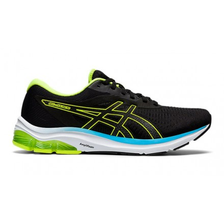 ASICS GEL-PULSE 12 BLACK/HAZARD GREEN