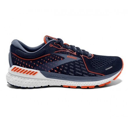 BROOKS ADRENALINE GTS 21 NAVY/RED/GRAY