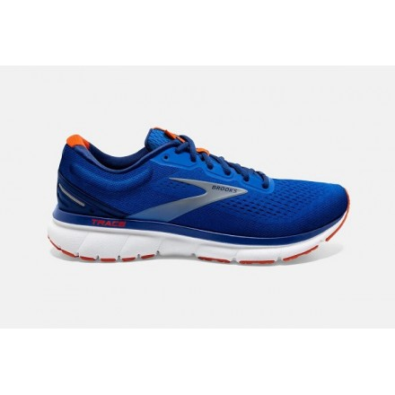 BROOKS TRACE BLUE/NAVY/ORANGE