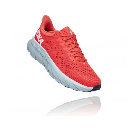 HOKA ONE ONE donnaHOT CORAL / WHITE