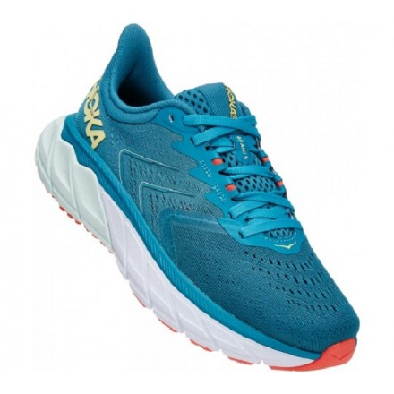 Hoka One One Arahi 5 donnaMosaic Blue/Luminary Green