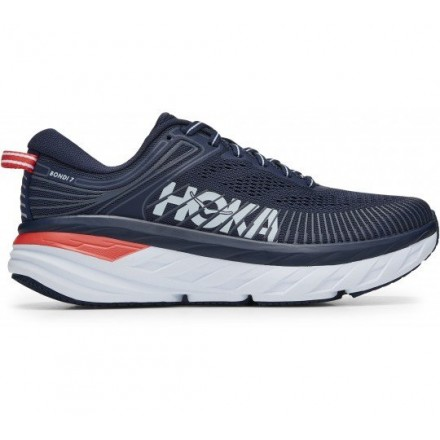 Hoka One One Bondi 7 donna Black Iris/Ballad Blue