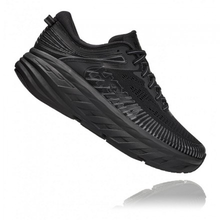 Hoka One One Bondi 7 donnaBlack/Black