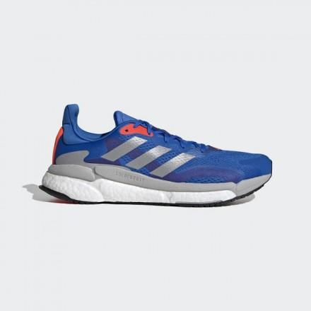 adidas SOLARBOOST 3Football Blue/Silver Metallic/Solar Red
