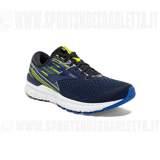 BROOKS ADRENALINE GTS 19 BLACK/BLUE/NIGHTLIFE