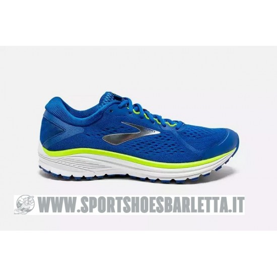 BROOKS ADURO 6 BLUE/LIME/WHITE