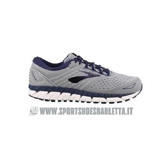 BROOKS BEAST \'18 4E GREY/NAVY/WHITE