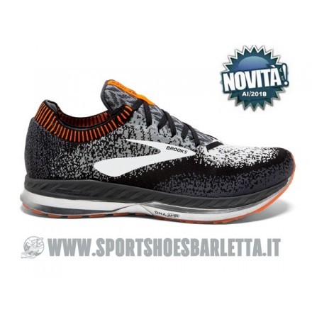 BROOKS BEDLAM (Black/Grey/Orange)