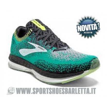 BROOKS BEDLAM Black/Teal/Nightlife