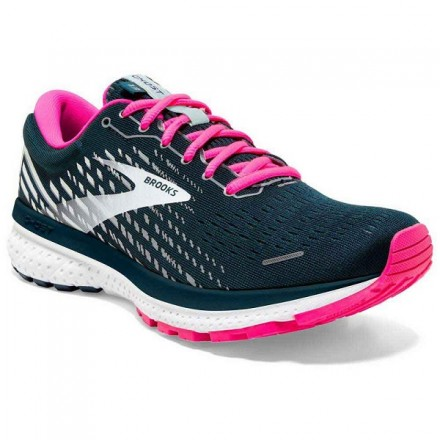 BROOKS GHOST 13 donna REFLECTIVEPOND/PINK/ICE