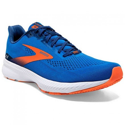 Brooks Launch 8 Blue/Orange/White