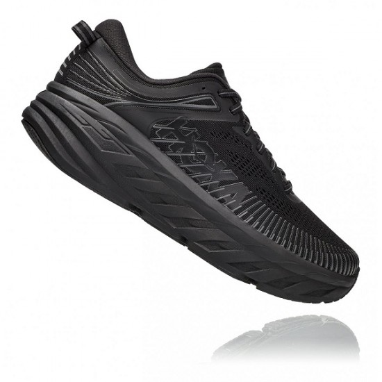 HOKA ONE ONE Bondi 6 Black-Blue