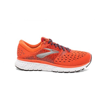 BROOKS GLYCERIN 16 ORANGE/RED/EBONY