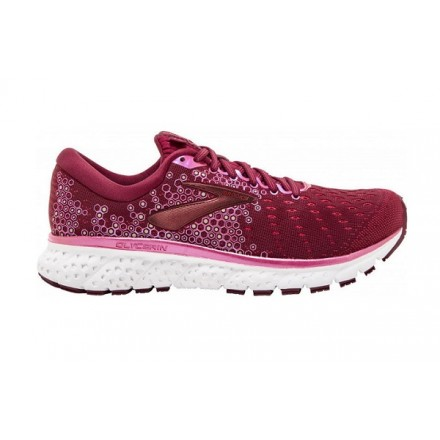 BROOKS GLYCERIN 17 donna RUMBA RED/GOLD