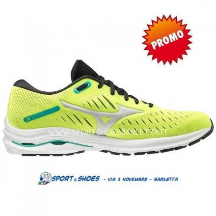 MIZUNO WAVE RIDER 24 UOMOSAFETY YELLOW