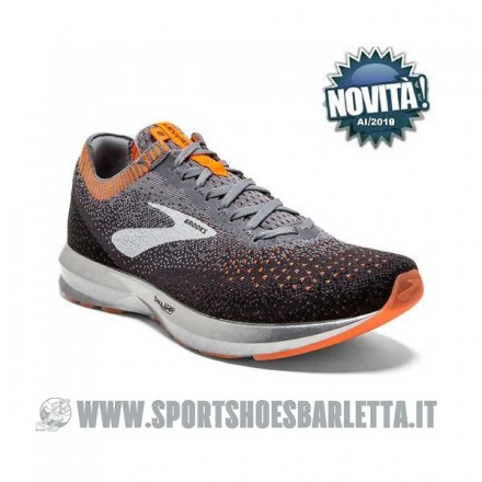 BROOKS LEVITATE 2 GREY/BLACK/ORANGE