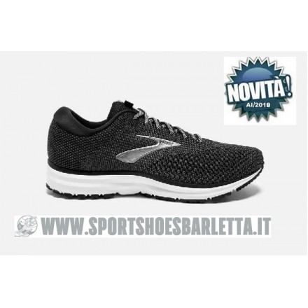 BROOKS REVEL 2 BLACK/GREY