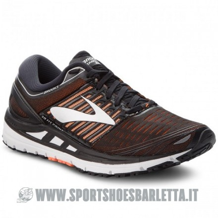 BROOKS TRANSCEND 5 BLACK/ORANGE/SIVER
