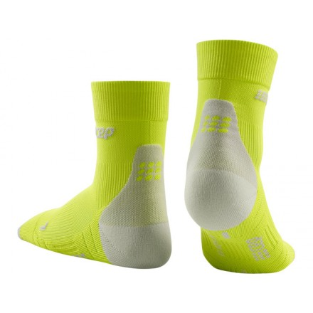 Cep Short Socks 3.0 Calze Da Corsa Uomo Grigio/Verde (2019)