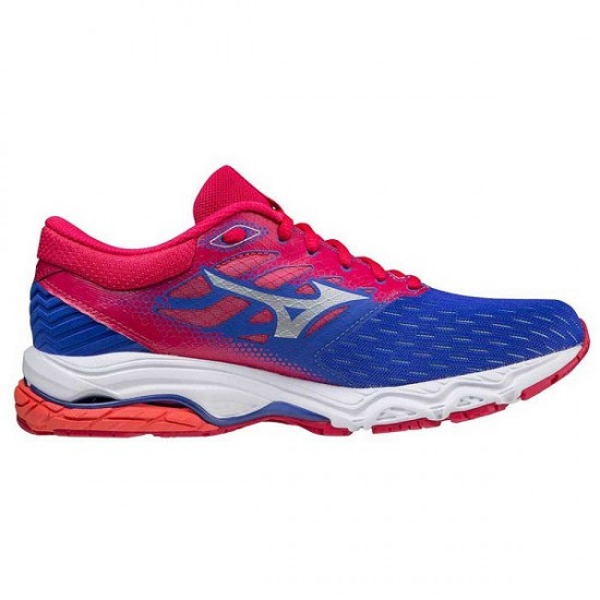 MIZUNO WAVE PRODIGY 3VIOLET BLUE/SILVER/ROSERED