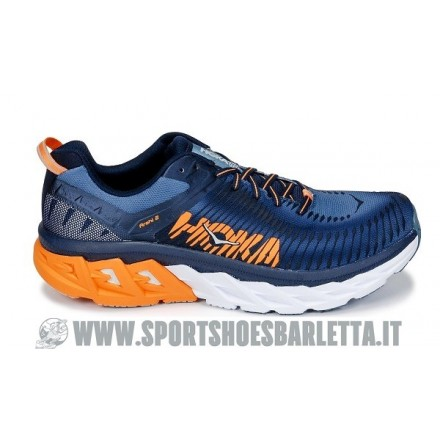 HOKA ONE ONE ARAHI 2 (BLACK/BLUE)