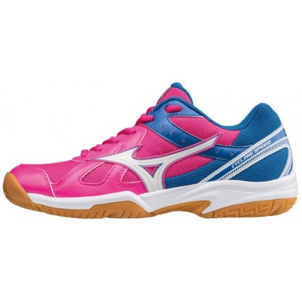 MIZUNO CYCLONE SPEED donna Pink Glo / White / Imperial Blue
