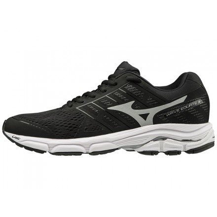 MIZUNO WAVE EQUATE 3 donna BLACK/WHITE
