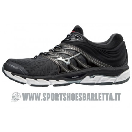 MIZUNO WAVE PARADOX 5 Dark Shadow/Silver/Red