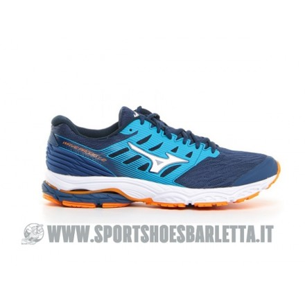 MIZUNO WAVE PRODIGY 2 BLUE/WHITE/ORANGE