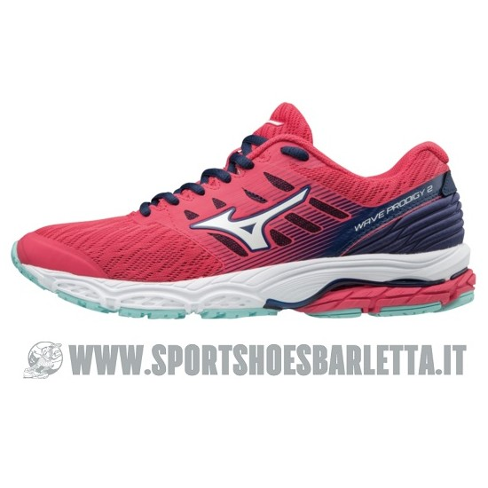 MIZUNO WAVE PRODIGY 2 donna PINK/SILVER/BLUE