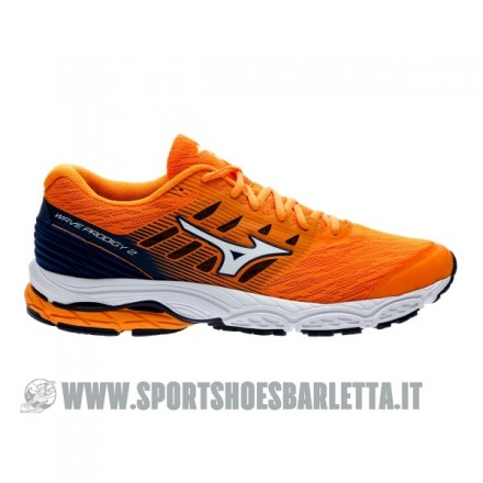 MIZUNO WAVE PRODIGY 2 ORANGE/SILVER