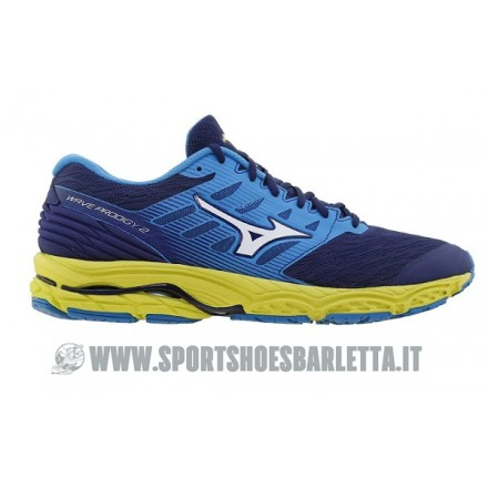 MIZUNO WAVE PROGIDY 2 BLUE-WHITE