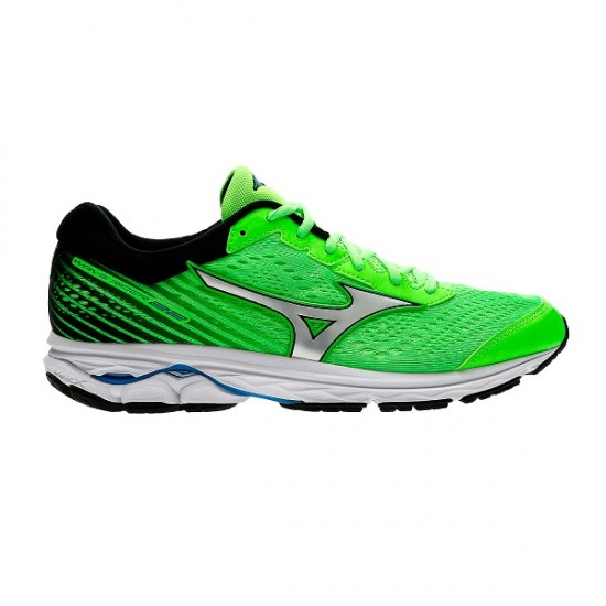 MIZUNO WAVE RIDER 22 GREEN/BLACK